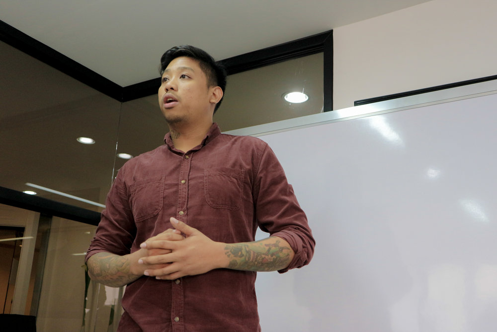 John Vince Mangibin, lecturer contributor to Integra's School of Business and one of Mr. Pengson's mentees