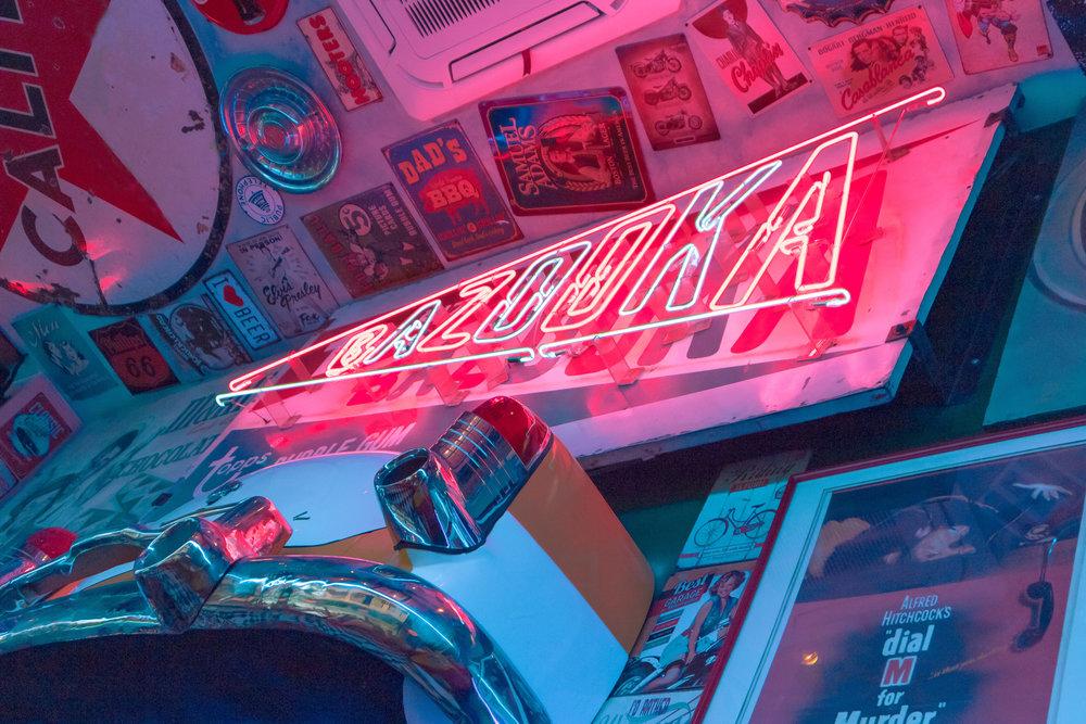 filling station bar, poblacion, makati restaurant, poblacion crawl, american diner