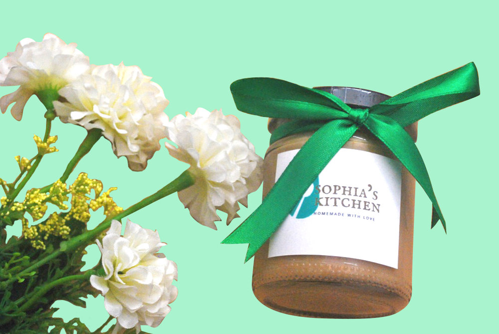 Sophia's Kitchen takes pride in its roasted cashew butter as it is sugar-free and organic. It is proudly produced with Philippine cashew nuts, and spreads evenly like peanut butter does.