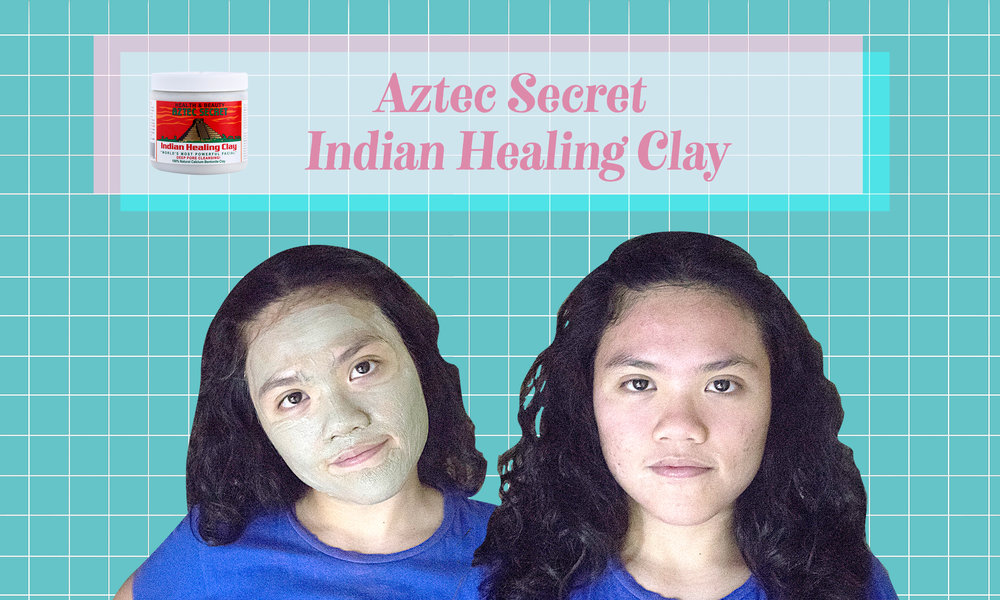Aztec Secret Indian Healing Clay: Although it does the job, my face looked like a tomato and it didn't do much for my skin. Too drying for my own skin.