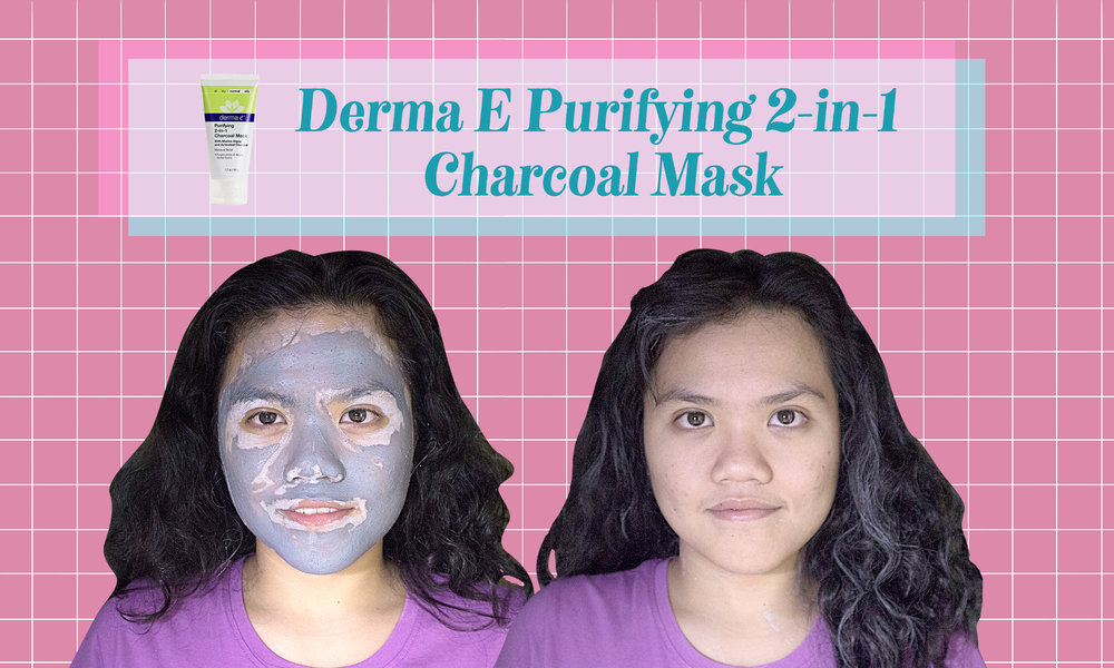 Derma E Purifying 2-in-1 Charcoal Mask: Mild and easy to apply, but kind of messy and dried up my skin too much.