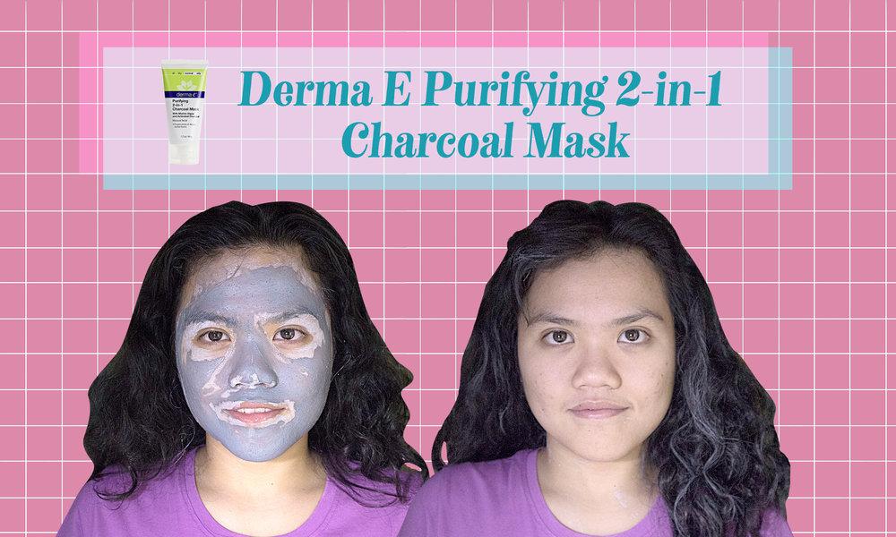 Derma E Purifying 2-in-1 Charcoal Mask,aztec secret indian healing clay, aztec mask, aztec clay mask, derma e charcoal mask, earth kiss moroccan clay pore refine mud mask, the body shop himalayan charcoal purifying glow mask, innisfree super volcanic clay mask, pore refine, tighter pores, pore mask, clay mask