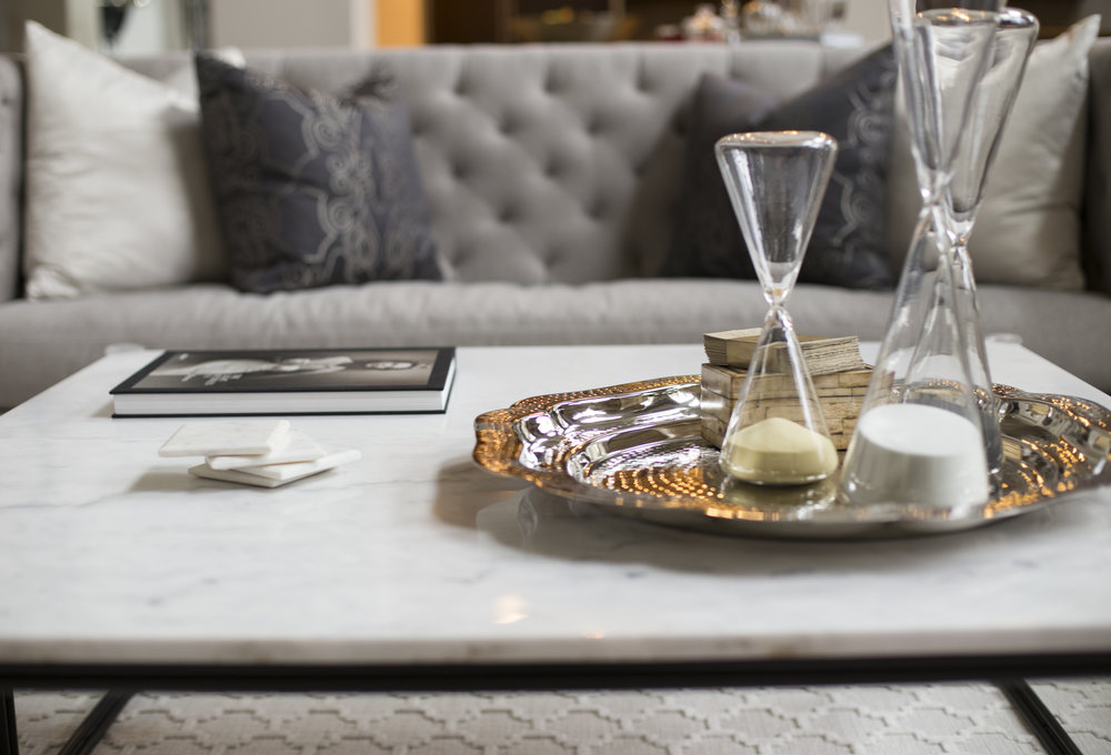 Styling - Art and accessories make a design shine. Once a space is completed and furniture is in place, Aaron Carlson Design can help add the final touches to your project, big or small. Using new items combined with your personal treasures finishes a space and makes it feel like a home.
