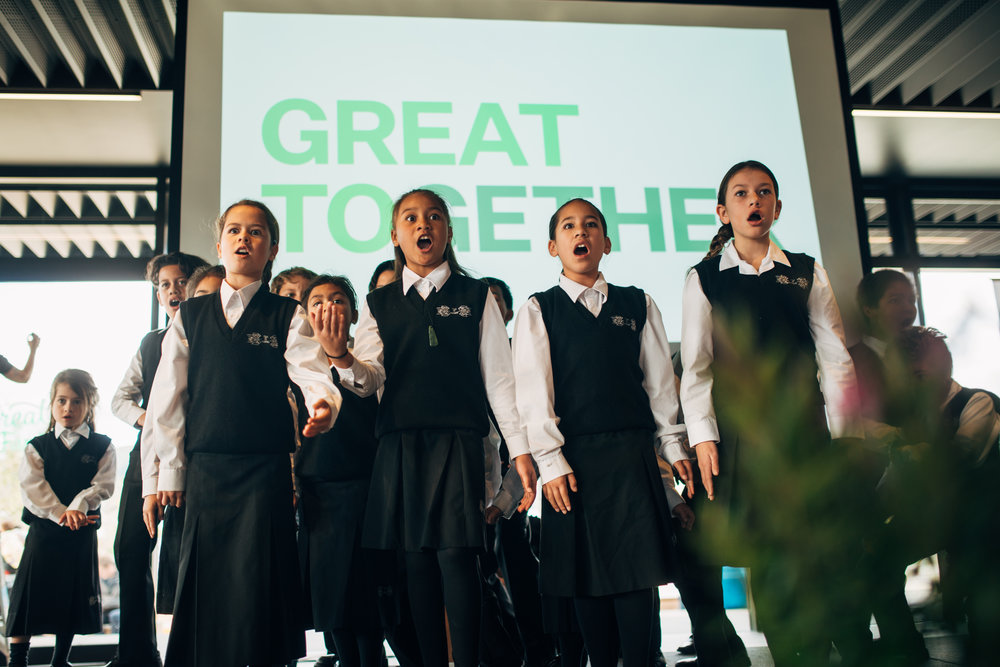 Awesome Kapa haka group.