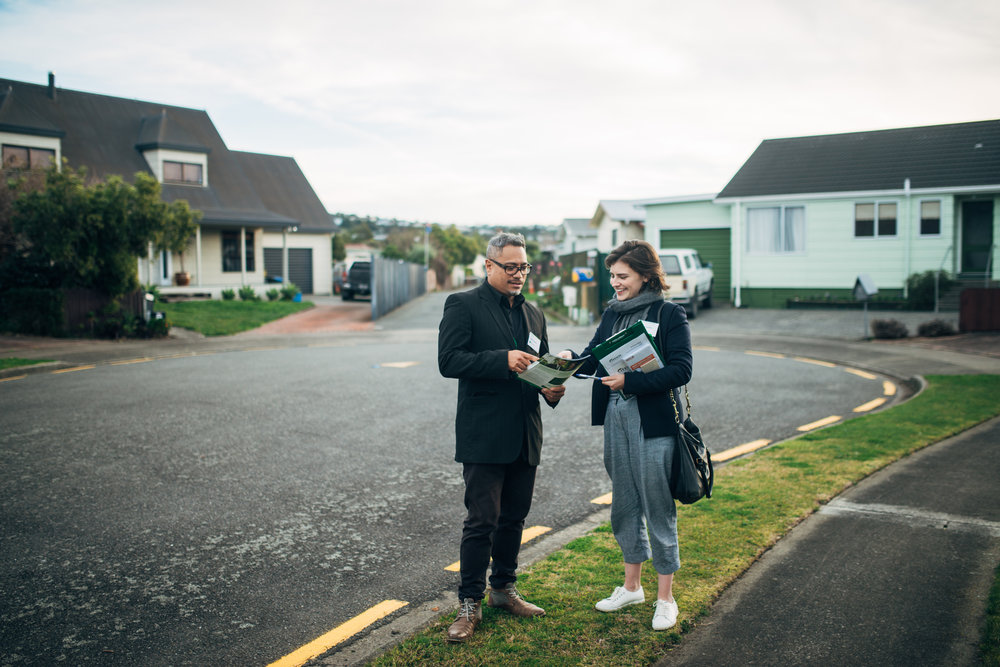 Doorknocking with two bloody excellent candidates, Teanau Tuiono and Chlöe Swarbrick.