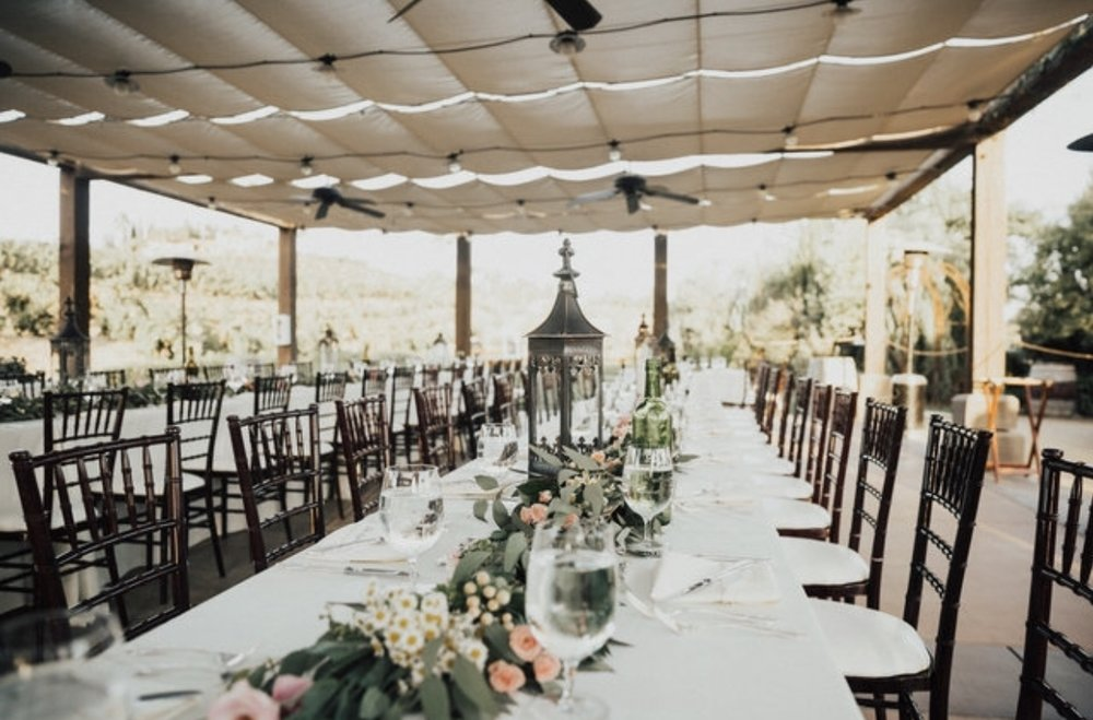 Stephanie and I wanted to make sure that the color scheme and the florals went well with the already existing landscape of the winery. I wanted to complement the venue by respecting what it already offered. Steph hit this out of the ballpark.