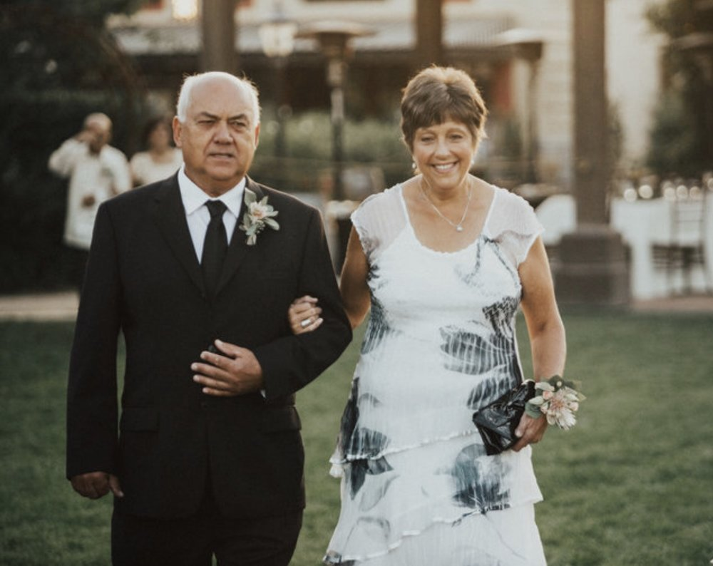 Parents of the Groom: Orbbe & Joyce Chadderdon