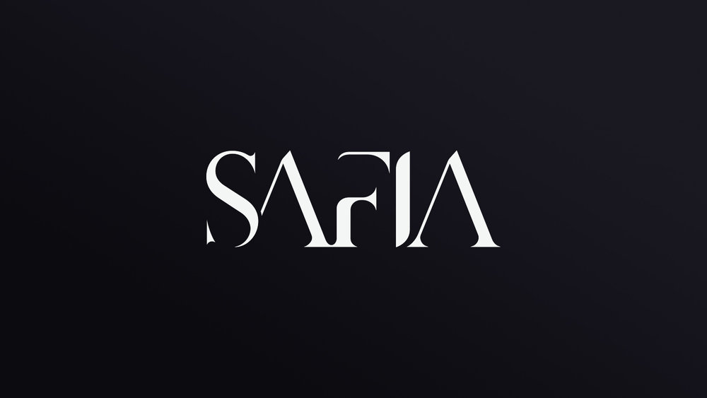 BRANDING & ARTWORK CREATED FOR SAFIA