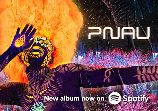 Our Pnau artwork is street level. Keep an eye out 👀👀👀 #pnau #kiradivine #afro #poster #artwork #spotify #music #gigposter