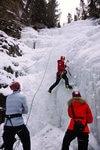 Ice climbing Telluride