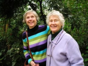 Dorothy Maclean with Claire Blatchford