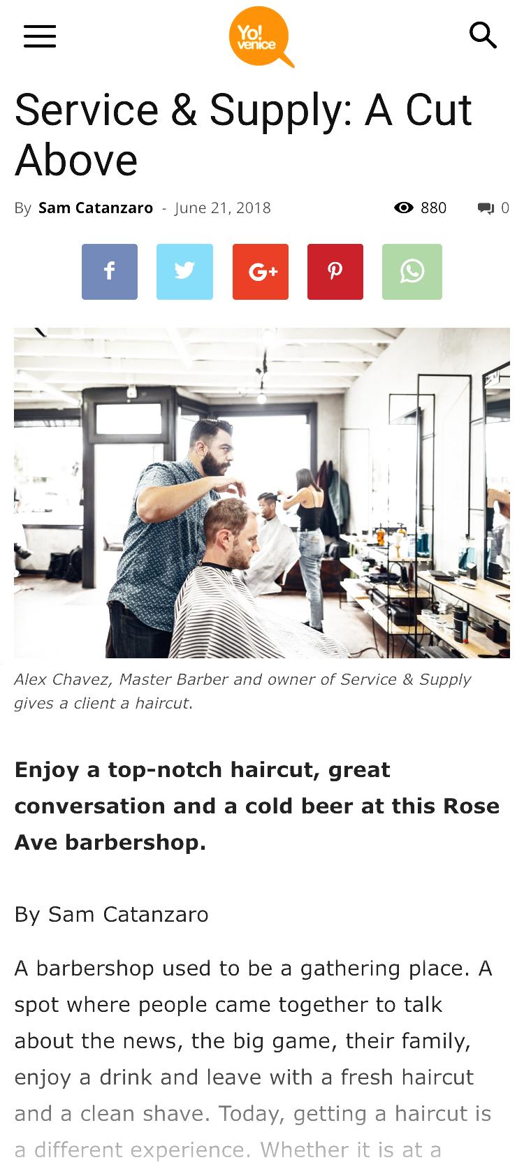 Venice Barbershop