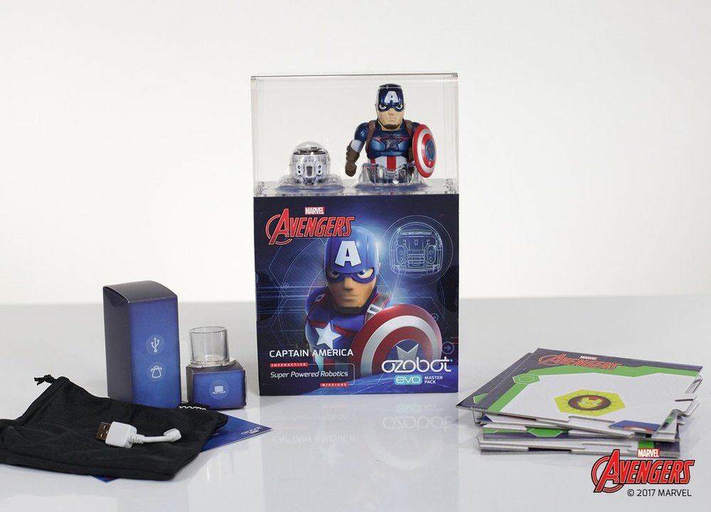 Ozobot Evo マスターパック(Captain America)