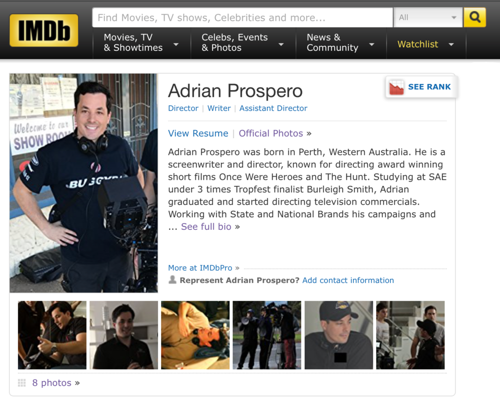 IMDb - IMDb, also known as Internet Movie Database, is an online database of information related to world films, television programs, home videos and video games, and internet streams, including cast, production crew, personnel and fictional character biographies, plot summaries, trivia, and fan reviews and ratings.