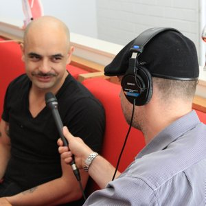 Steven Lewis interviewing Adriano Zumbo