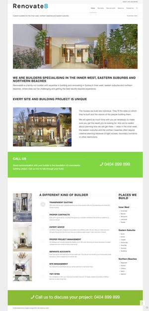 building website case study