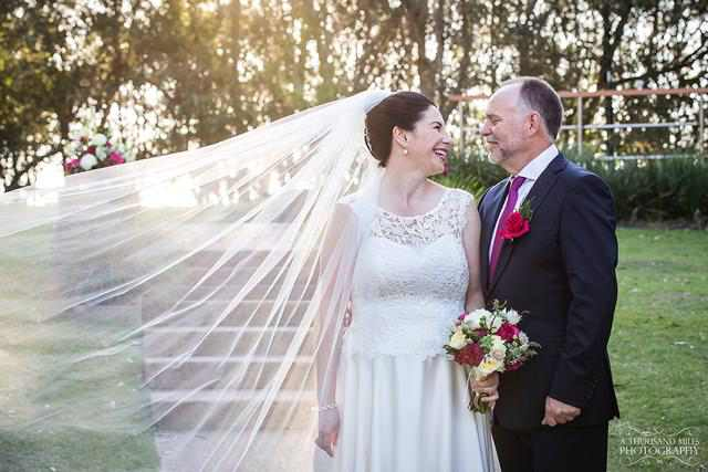 James and Justine Williams – Mt Cotton, who had a beautiful wedding ceremony