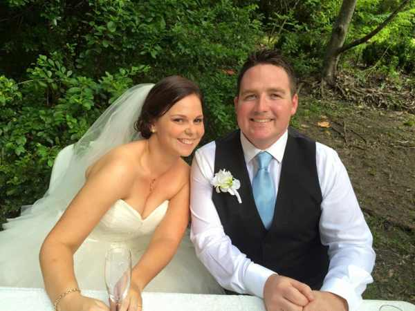 A good rapport (with your celebrant, not just each other!) is the key to a stress-free wedding day.Ben and Megan Dahl – Woodford