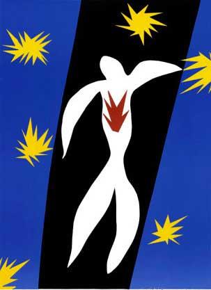 La caduta di Icaro - Matisse