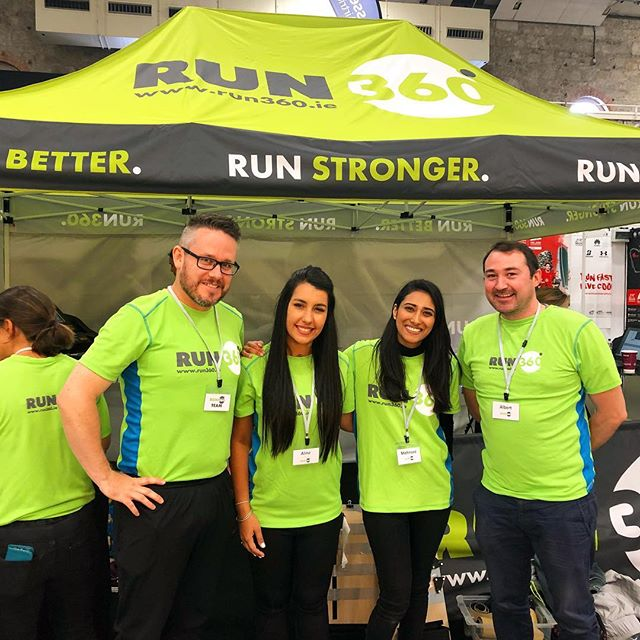 If you're collecting your race number for the @dublinmarathon come find our team up beside the stage and say hello! They're running free taster 3D gait analysis sessions and there may or may not be jelly beans... 😜#dublinmarathon #irishrunner #marathon #runfast #dublin #friday #bankholiday #physio #irishfitfam