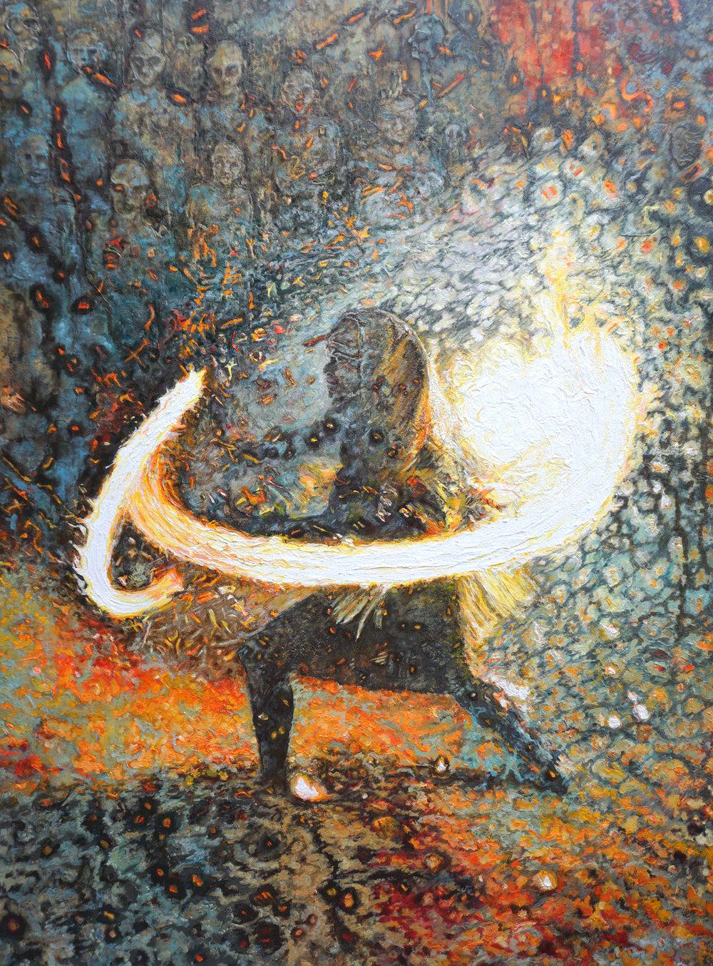 SANCTUARY OF FIRE - Ben Taylor/a.k.a. Mometo