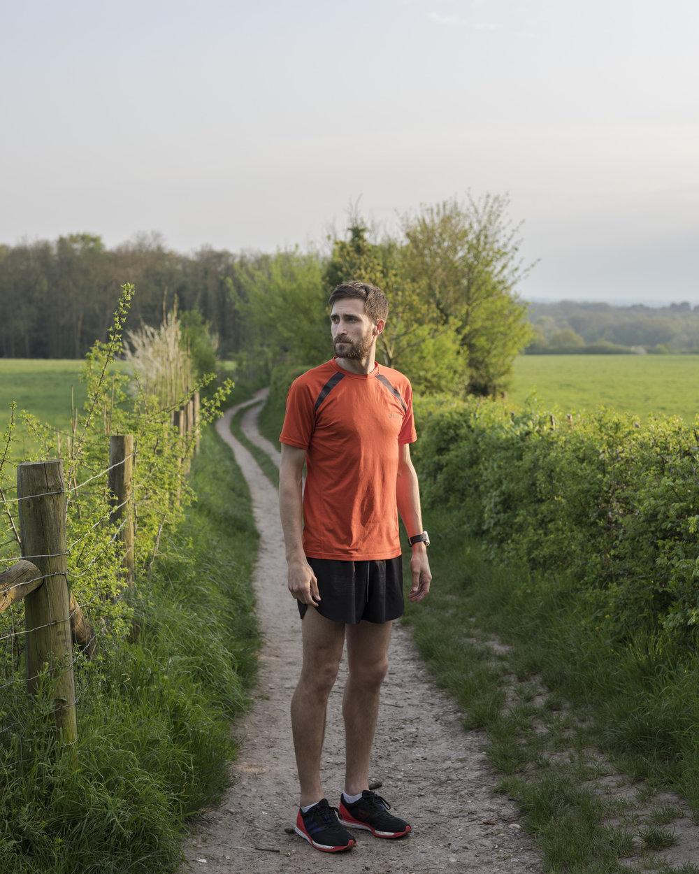 Self-portrait, Martin Eberlen, 2018