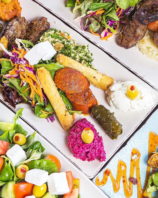 Mediterranean sharing plates? Yes please!