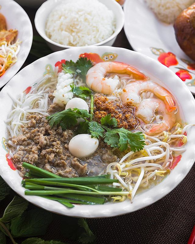 Beef, Prawns, Noodles, Coriander?! What more could you ask for?