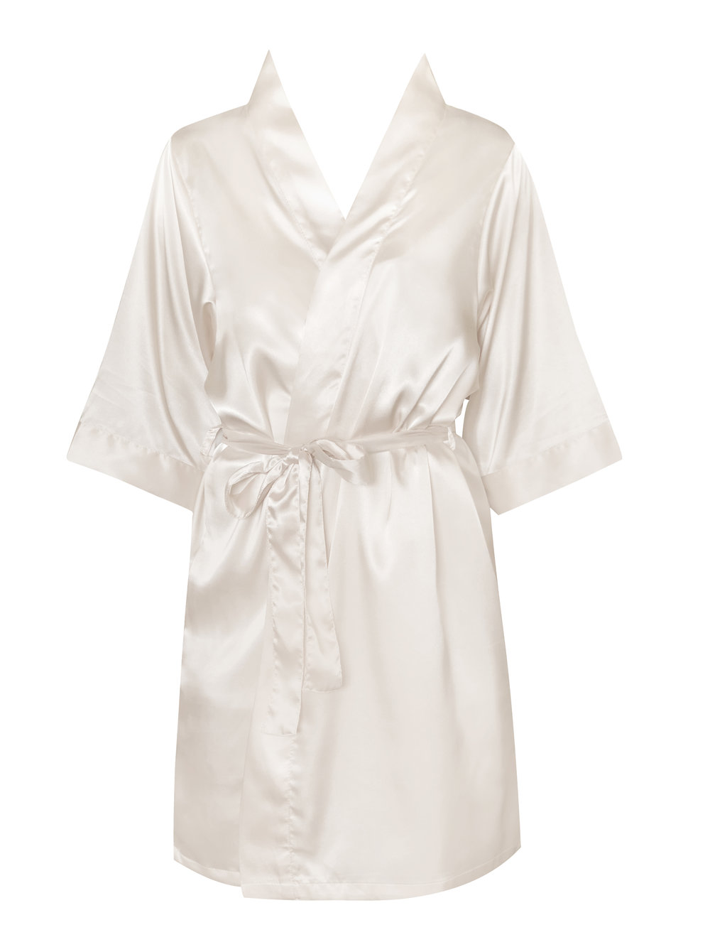 Personalised Bride and Bridal Party Satin Robe Dressing Gown ...