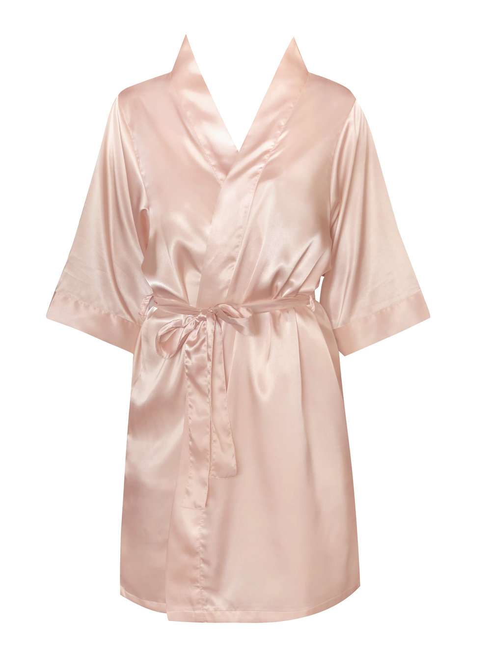 49135c4c2d Personalised Bride and Bridal Party Satin Robe Dressing Gown ...