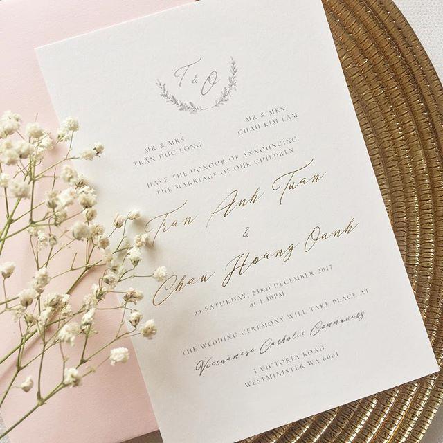 Elixir Wedding Invitation - from $3 per invitation
