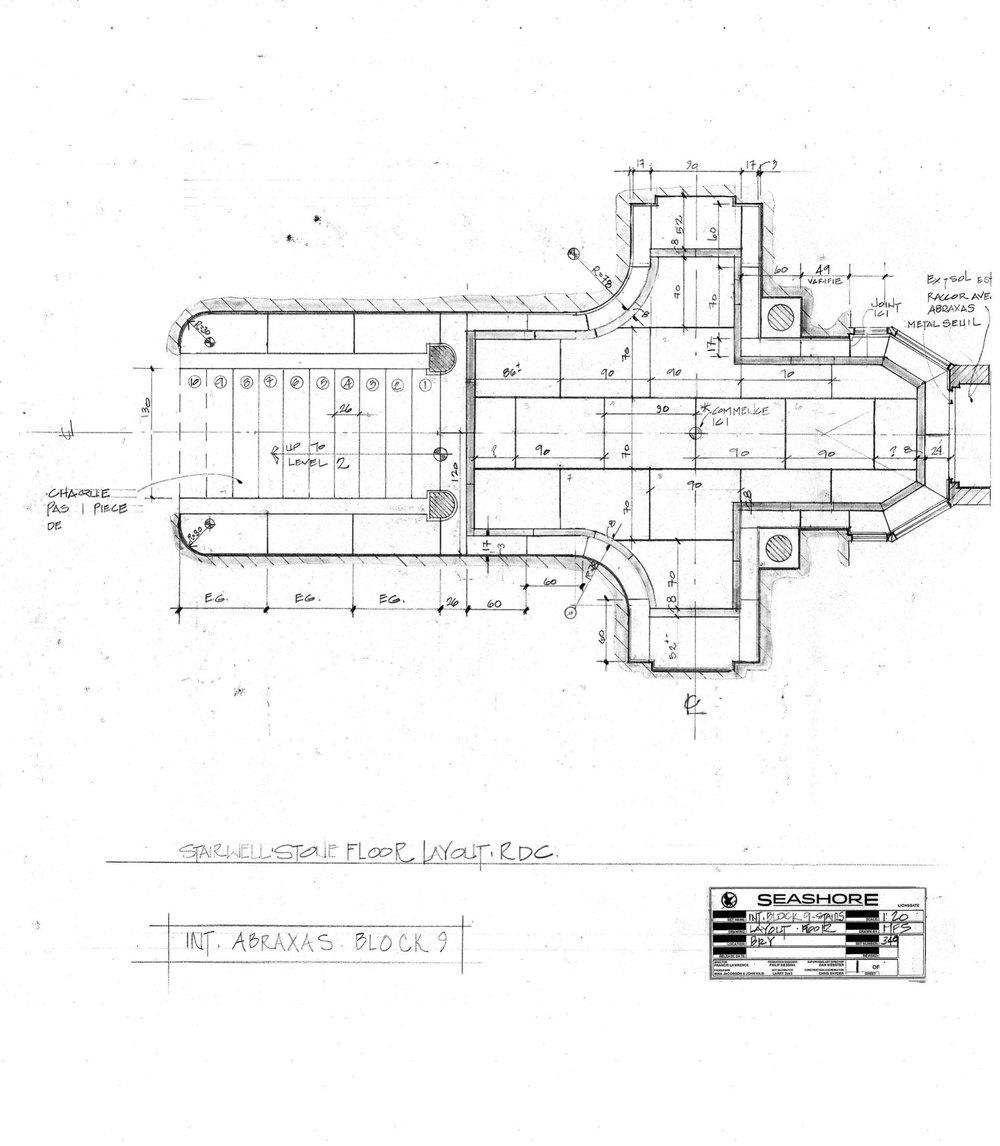 Stairwell plan