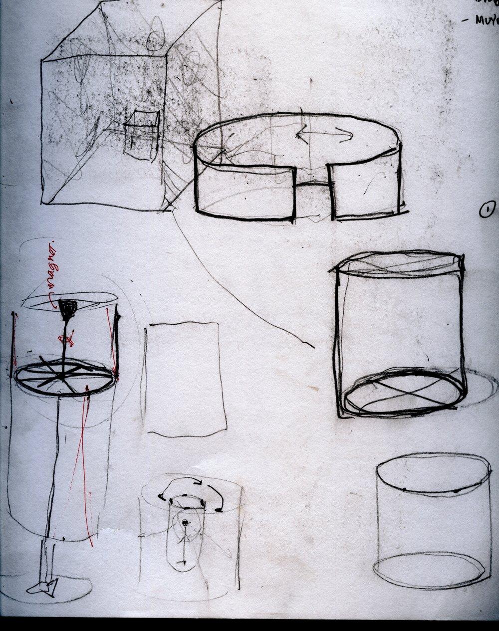 Development sketches