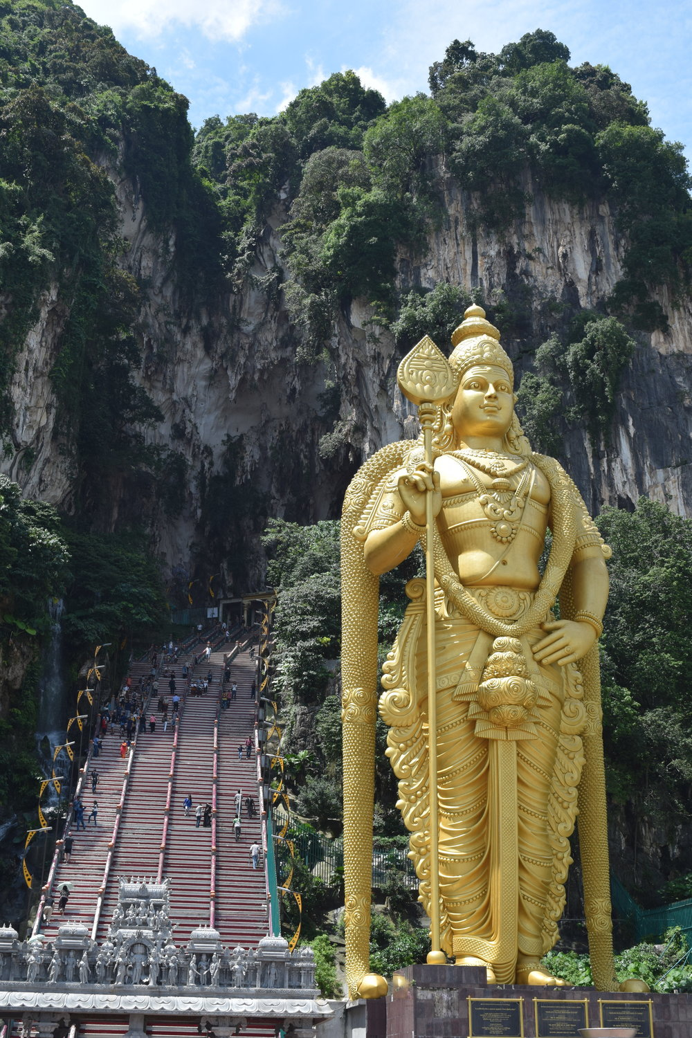 Entrance to the Batu Caves