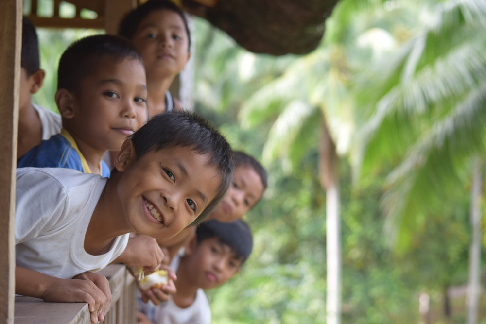 My cheeky little monkey boys and best friends while staying in the jungles of the Philippines!