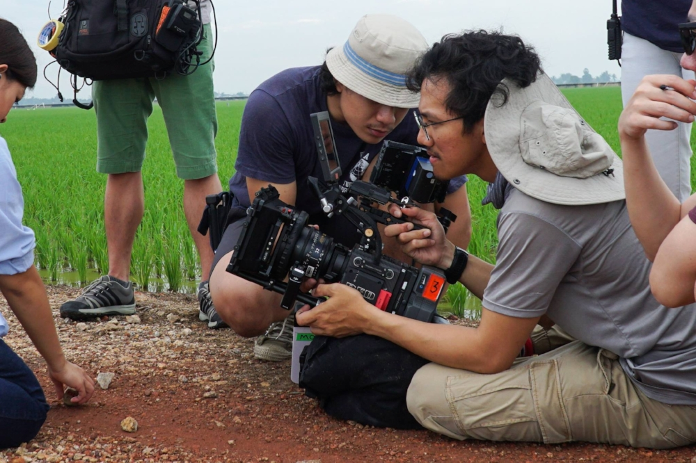 Khairulhakim shooting and directing his directorial debut short film, KARA, in Malaysia.