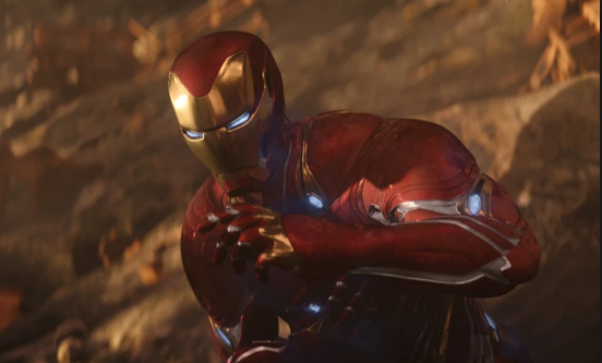 Iron Man about to feel that painnnnnnnn