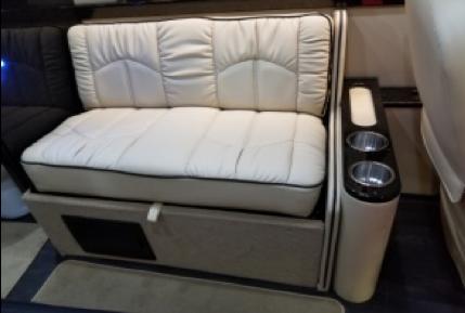 Sofa side cup holders/storage