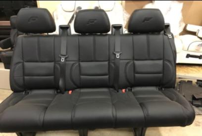 "Recover Mercedesbench Seats w/ ""F"""