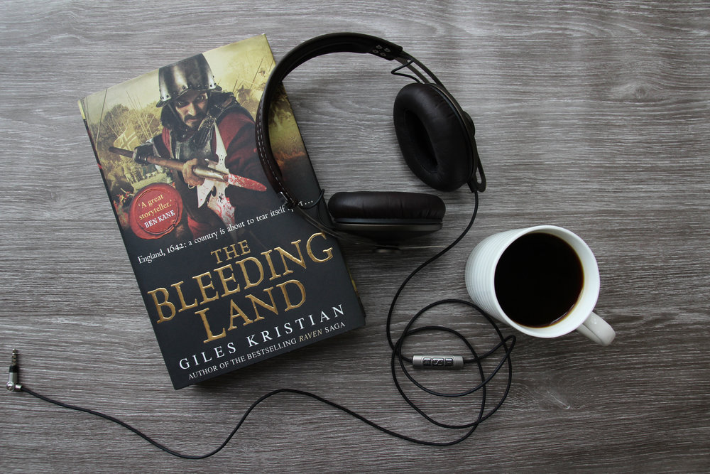 The Bleeding Land Audio Book by Giles Kristian
