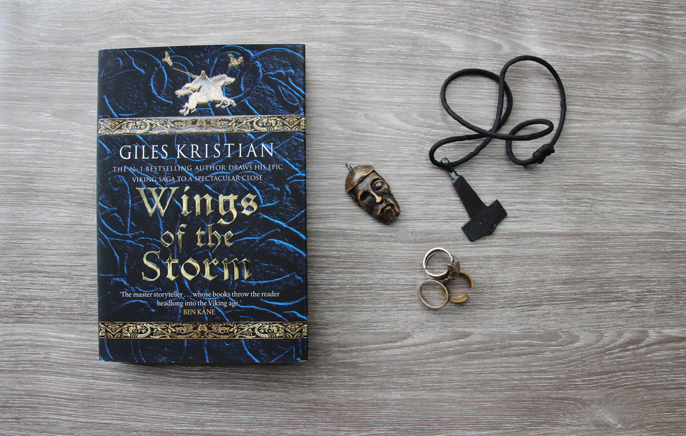 Wings of the Storm By historic author Giles Kristian