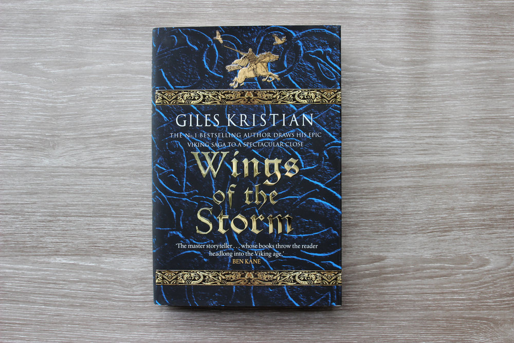 First edition of Wings of the Storm By Giles Kristian