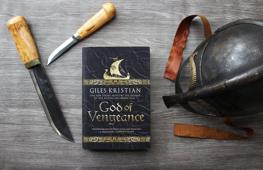 God of Vengeance By historic novalist Giles Kristian