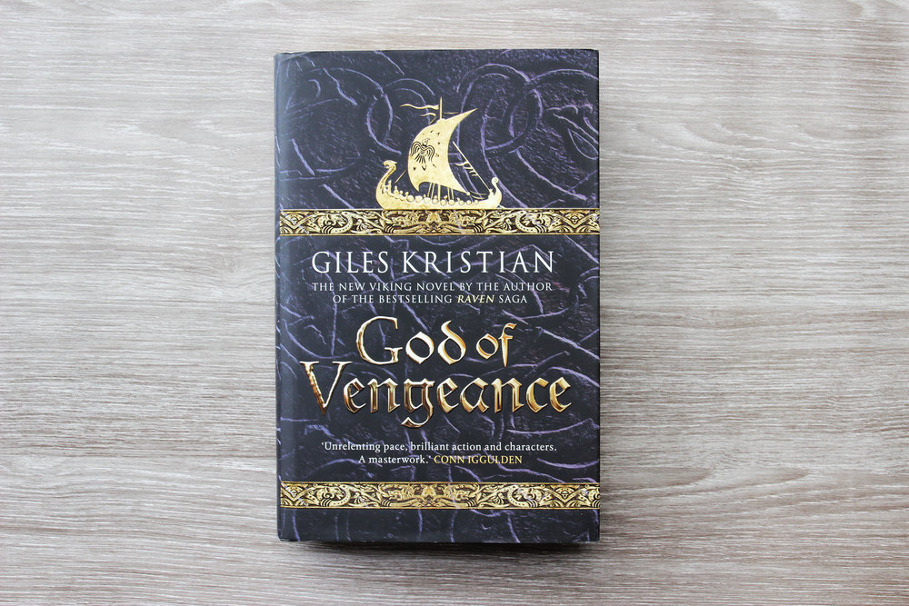 God of Vengeance By historic author Giles Kristian