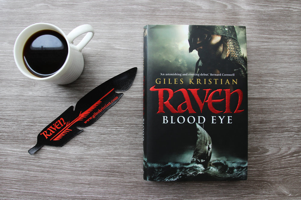 Raven Blood Eye by historic author Giles Kristian