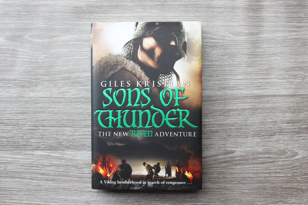 Sons of Thunder by historic author Giles Kristian