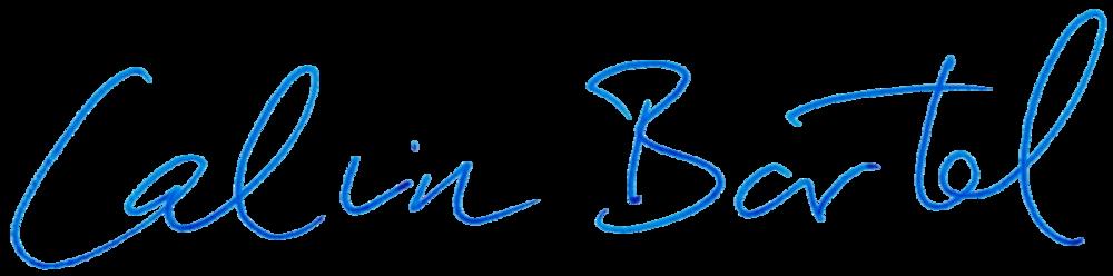 Calvin Lester Bartel  Geschäftsführer Bartel Consulting