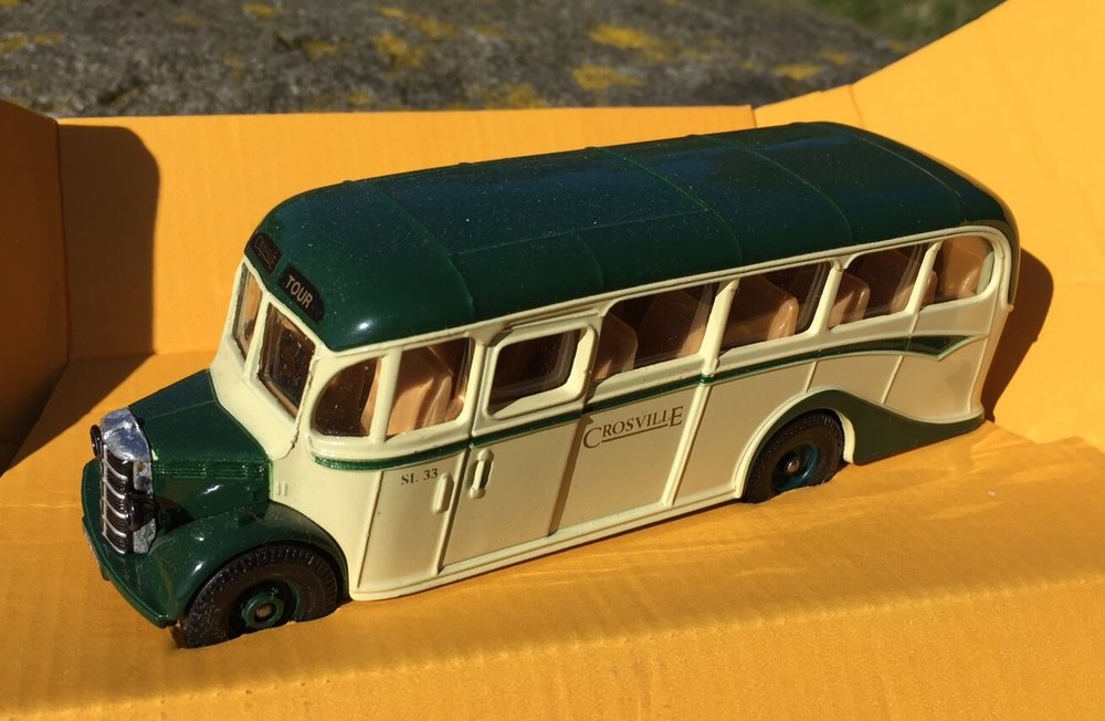 A scale model of a local bus