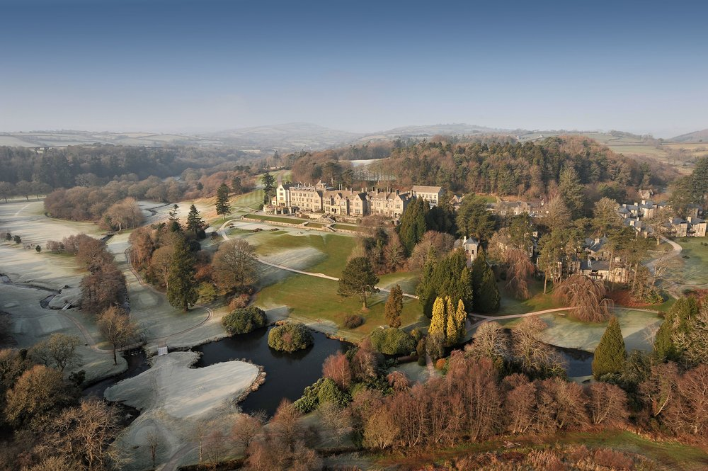 Bovey castle - Devon, England