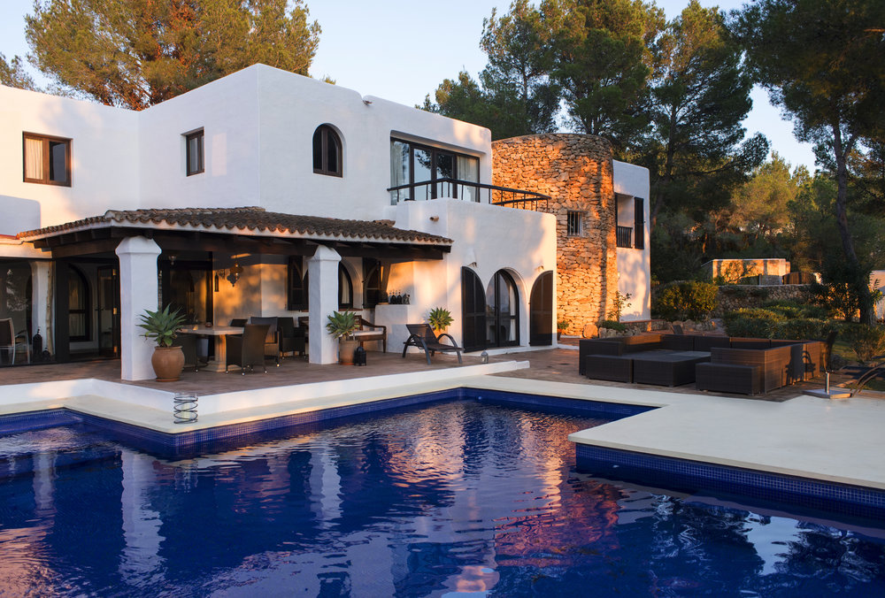 villa Can can - Ibiza, Spain